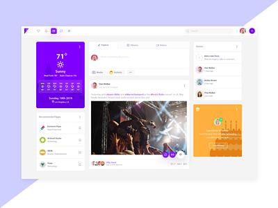 Friendkit - Bulma Social Media UI Kit vector ui html template feed social media dashboard design modern clean bulma app
