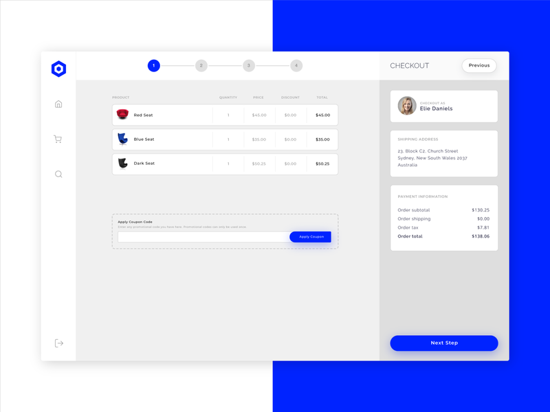 Nephos   Checkout Process illustration ui template dashboard ecommerce clean cssninja app modern bulma