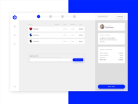 Nephos | Checkout Process illustration ui template dashboard ecommerce clean cssninja app modern bulma