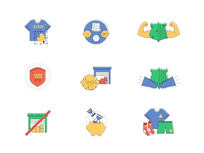 Icon Set for a Freelance Project