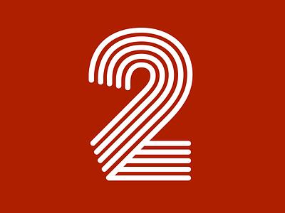Retro sketch fonts number 2 sports design
