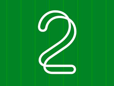 2 | Advent Calendar 2019 fonts sports design advent calendar 2