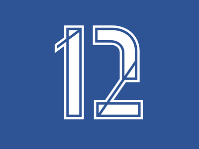 12 | Advent Calendar 2019 advent calendar font sports 12 2 1