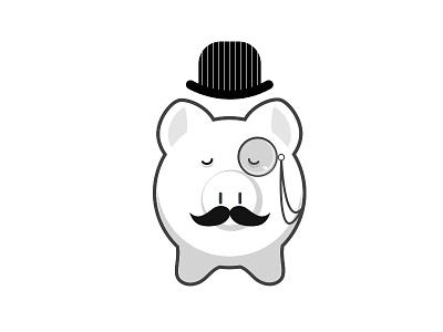 Mr. Dapper Pig