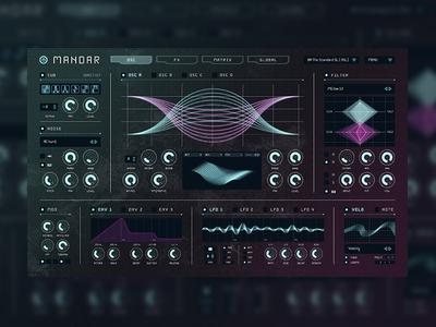 VST UI/UX concept web ui ux interface vst music