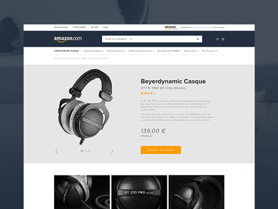 Amazon Redesign Concept mobile design ui artistique direction website amazon redesign concept