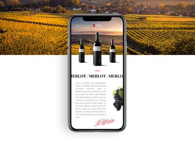 Concept app wine wine director art webdigital uiux nature ios interface design app