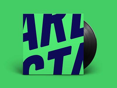 Cover Album design artistique minimalist color vinyl album cover graphic art cover album concept music typography