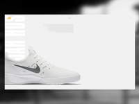 Nike SB - Nyjah Huston shoes - Web Interaction