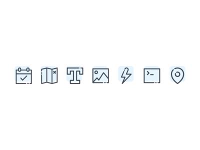Widget Icons web design iconsuite line branding digital widget wia ui tech iot linedrawing design icon illustration