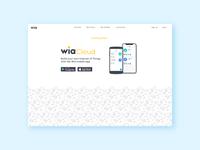 Coming soon... Internet of Things App with Wia Cloud