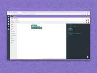 Code with blocks