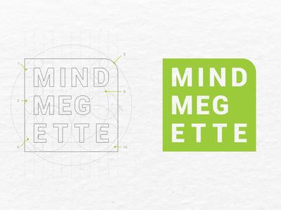 identity for mindmegette gastro mindmegette logo identity