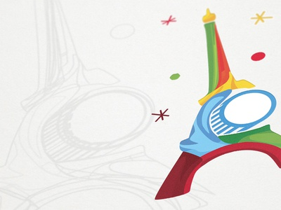 Euro 2016 - Nemzeti Sport Key visual concept sport paris nemzetisport keyvisual france football euro2016