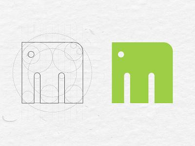 the elephant elephant mindmegette logo identity gastro
