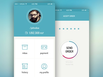 payment app concept design payment