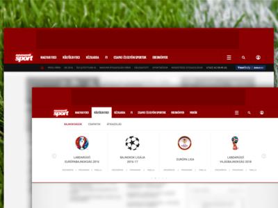 nemzetisport.hu header redesign header nemzeti sport