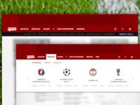 nemzetisport.hu header redesign