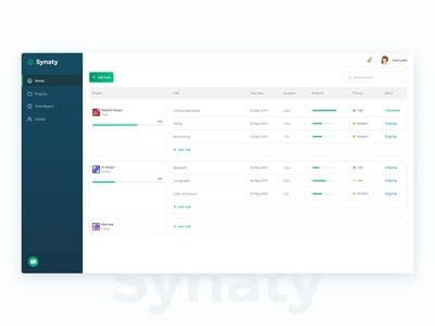 Project Tracking Dashboard