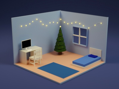 Quick render of an imperfect room
