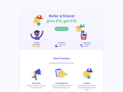 Refer a friend icon ux vector graphicdesign sketch ui website logo character branding design illustration