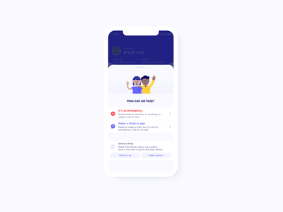 How can we help? app vector typography graphic ux ui icon sketch character branding design illustration