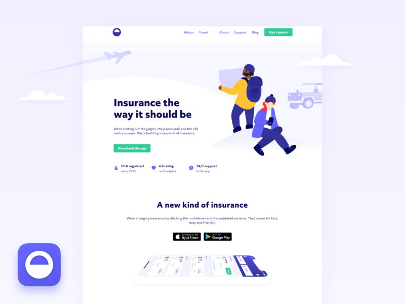 Our new homepage  🎉 homepage product design web ux ui website icon logo character branding design illustration