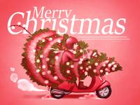 A Very Vespa Christmas