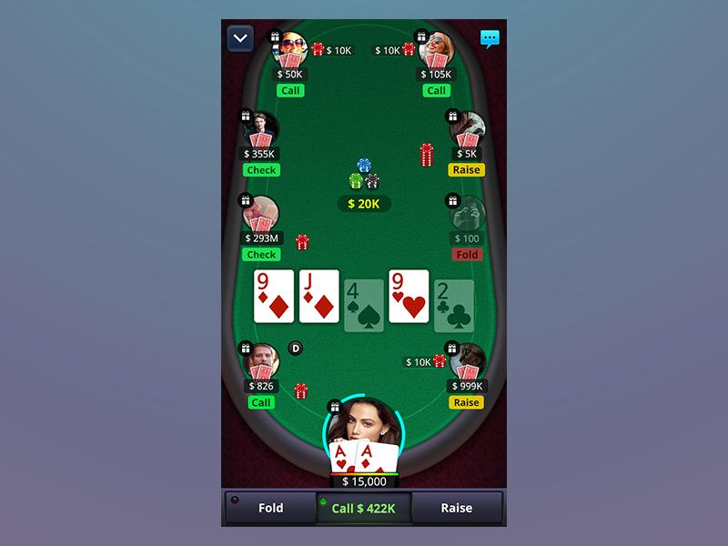 Game Poker Ui game poker ui