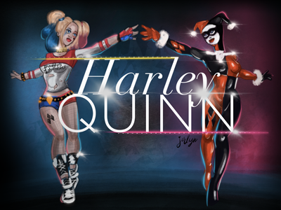 Harley Quinn suicide squad harley quinn ipadpro applepencil commuteartist commuteart