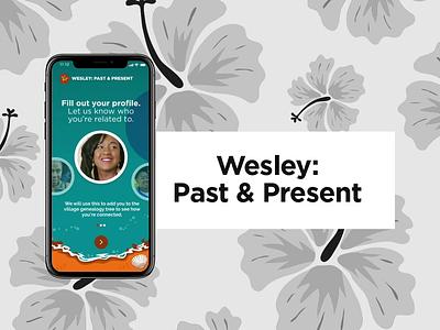 Wesley, Dominica (Past and Present) prototype adobe xd