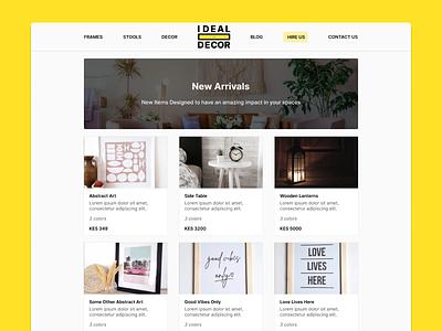 Website Design ecommerce ux ui