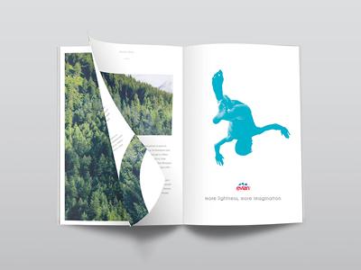 Evian water - Magazine