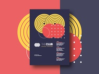 The Club - Poster Series Design