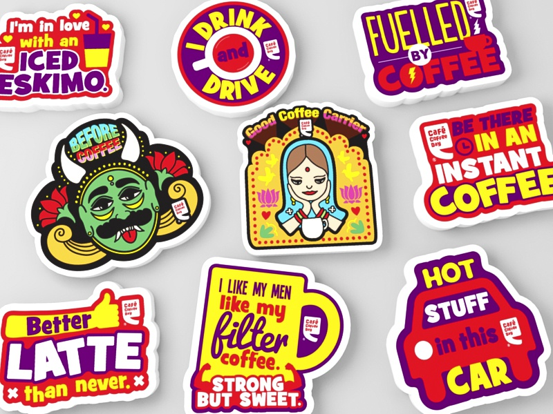 Ccd carstickers