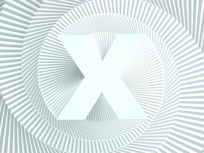 Experiment: Type X brand x stack type animation 3d animation 3d branding typography