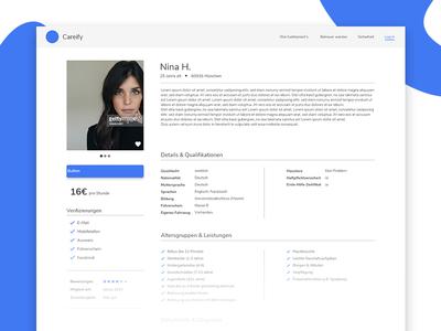(Almost) DailyUI #006: User Profile