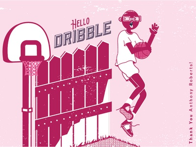 First Shot anthony roberts first shot reebok dribbble illustration jordan nike