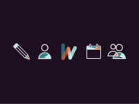 Icons for a UX redesign