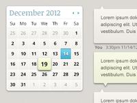 Calendar & Chat