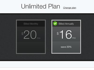 Pricing Layout ui pricing web app ux