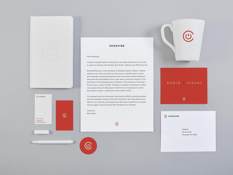 Cheshire AV Branding Identity digital agency design agency icon typography logo branding agency design branding