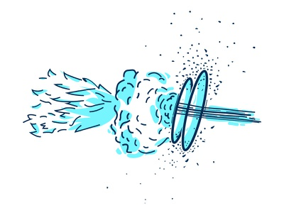 xplosion! portal space universe fire explosion minimal simple icon illustrator outline