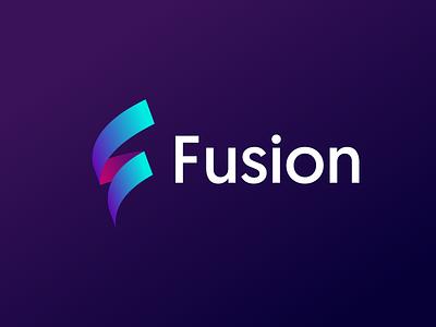 Fusion branding website agency logo brand design fusion