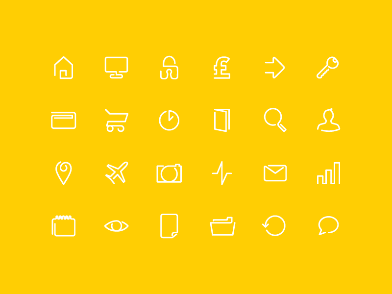 FREE Continuos Line Icon Pack free icon icons icon pack line icon line icons royandco clean flat vector