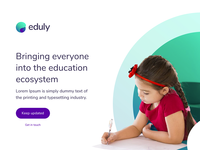 Eduly - Landing Page