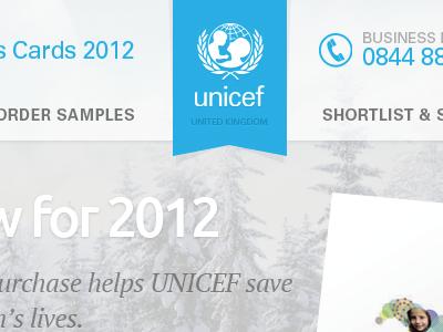 Unicef corporate cards