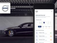 Volvo - Service Booking XP