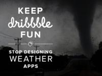 Keep Dribbble Fun