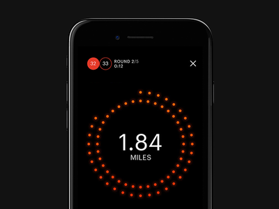 R/GA - The Pursuit by Equinox spin class app mobile ios tracking fitness data cycling